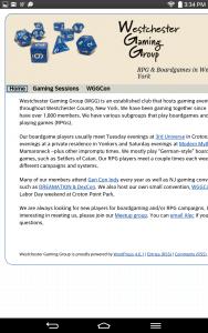 Original WGG Site